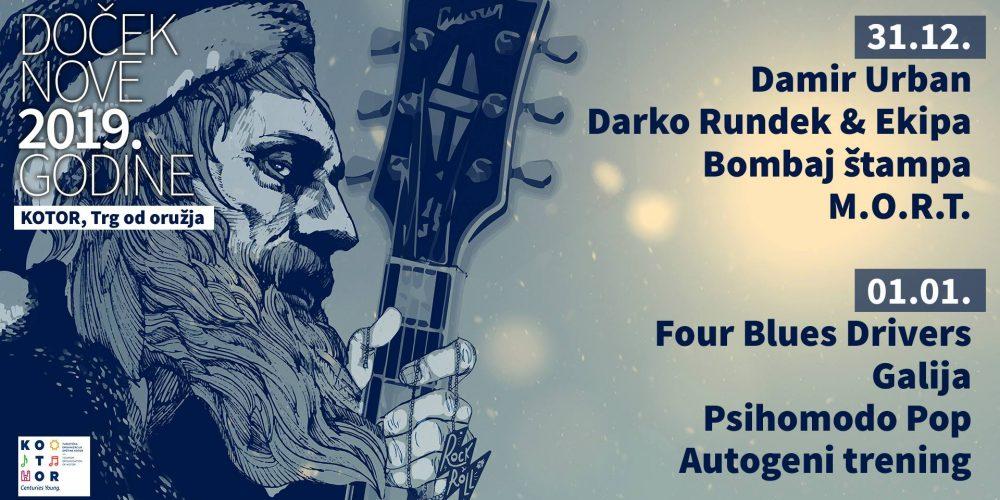 ROCK NEW YEAR – Kotor